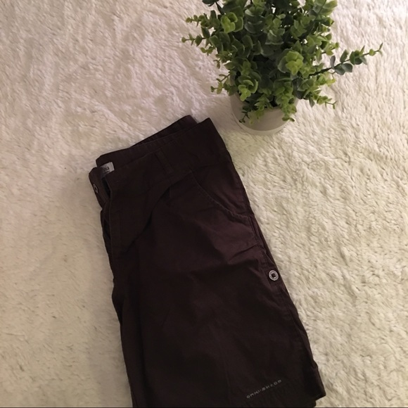 Columbia Pants - DONATED Brown Colombia Bermuda Shorts